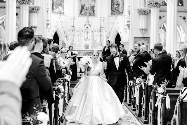 Corpus Christi Catholic Church Wedding Photos Photographed by Maryland Wedding Photographer Heather Ryan Photography