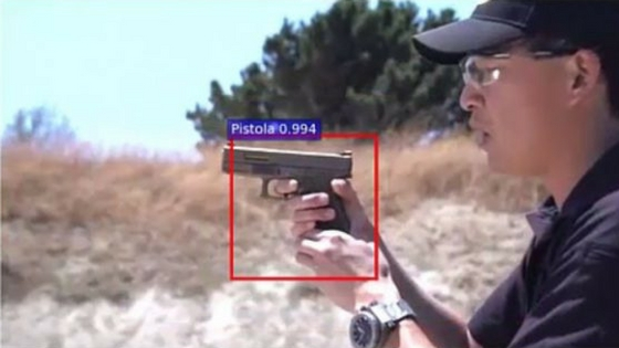 'Artificially Intelligent' system can recognize guns in videos