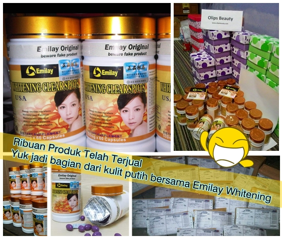 Ready Stock Emilay Whitening Original