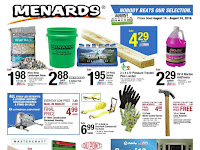 Menards Weekly Sale Ad August 25 - 31, 2019 and 9/1/19
