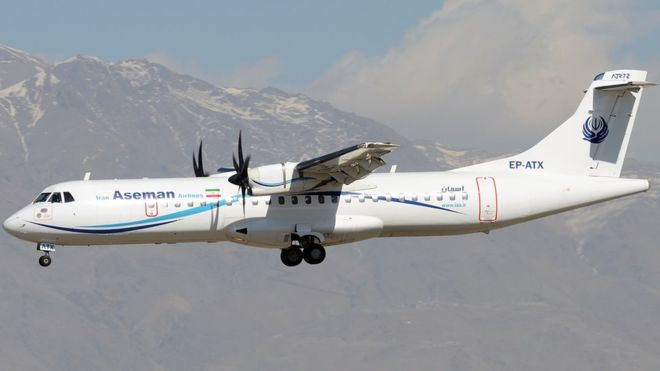 Iran plane crash: All 66 people on board feared dead