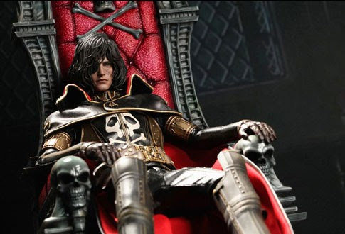 Capitan Harlock Hot Toys