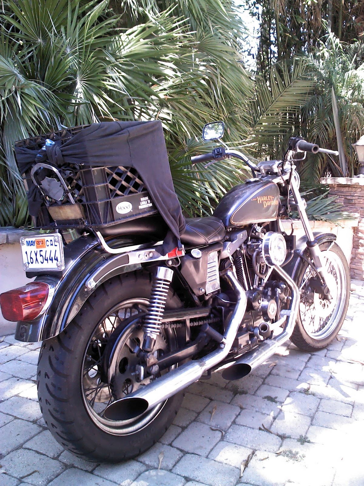It s just junk parts cooperative Harley Davidson Ironhead