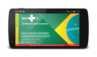 Cartão do SUS online digital