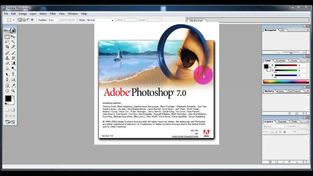 Photoshop 7.0 free. download full version