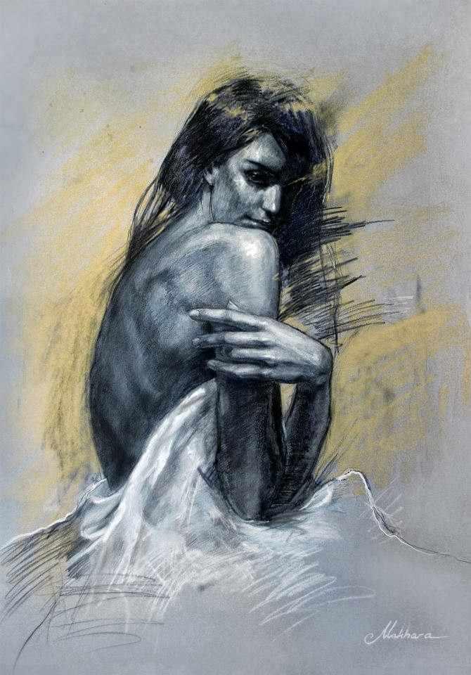 Грузинский художник. Giorgi Makharashvili