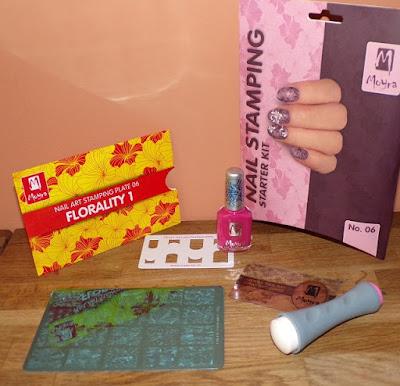 #kit de inicio de estampación de manicuras
