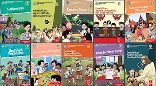 UpDate Seleksi Buku Guru dan Siswa Kelas 4  SD Kurikulum Pendidikan 2013 Edisi Revisi 2017