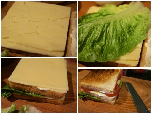 Fanny Cradock Club Sandwich