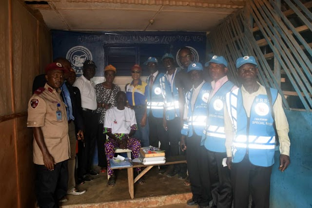 Rotary Club, FRSC Conducts Free Eye Test For Commercial Bus Drivers in Ikorodu