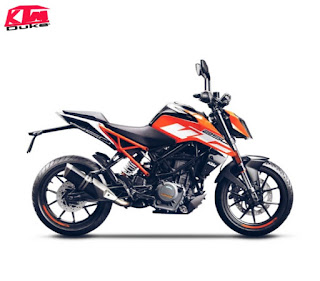 KTM Duke 250 in India Price and full review, top speed, mileage,images,accessories  and with abs