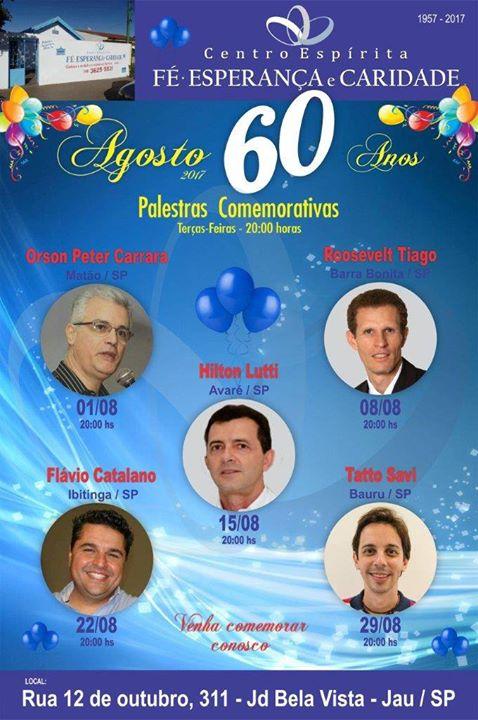 60 anos do C.E. FÉ, ESPERANÇA E CARIDADE