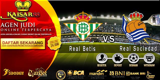 Prediksi Bola Jitu Real Betis vs Real Sociedad 2 Maret 2018