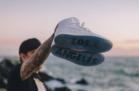 77a7e420c61628 Here is a detailed look at the upcoming Air Jordan 1  Los Angeles  Retro  Sneaker finally releasing at the Flight 23 at Footaction located at 1235  3rd Street ...