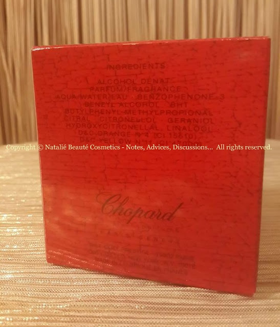CASMIR by CHOPARD PERSONAL REVIEW AND PHOTOS NATALIE BEAUTE