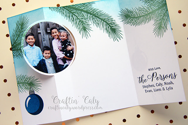 Sunny Studio Stamps: Holiday Style Customer Card Share by Caly Person