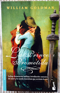Portada del libro La princesa prometida, de William Goldman
