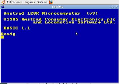 amstrad cpc 6128 emulator