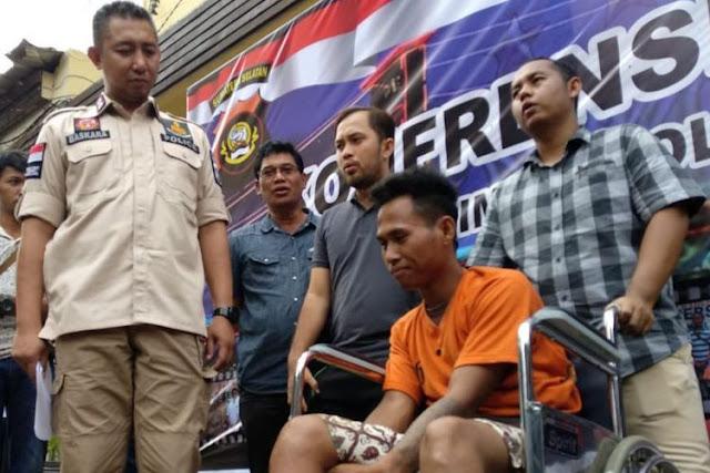 "Ditangkap Saat Pulang Kampung, Buronan Ini Bilang ""Saya Kira Polisi Sudah Lupa"""
