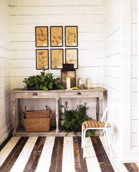 Dreams & Happy Things... Painted wood floors