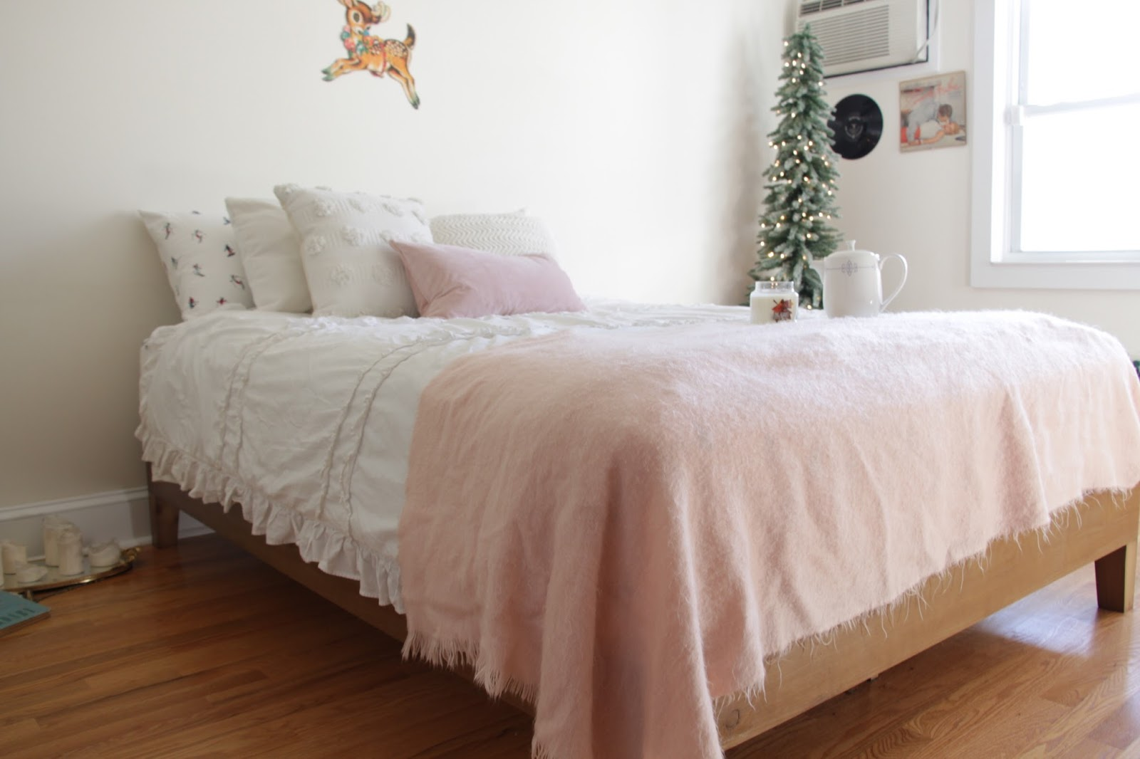 The first piece of furniture I bought for my new room was my bed  I wanted  something simple and inexpensive  I fell in love with a bed frame from  Urban. My Bedroom Tour   Emelyne