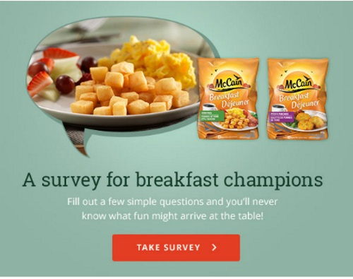 Mccain Free Breakfast Potatoes Coupon