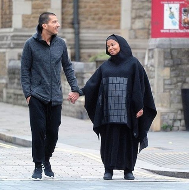 Janet Jackson and her husband Wissam Al Mana were spotted in London recently, taking a walk and holding hands