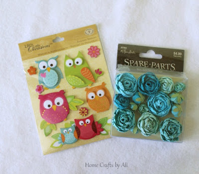 National Craft Month Craft Supply Giveaway spring stickers paper flowers