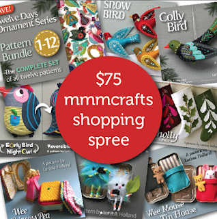 MmmCrafts giveaway on the MmmCrafts blog