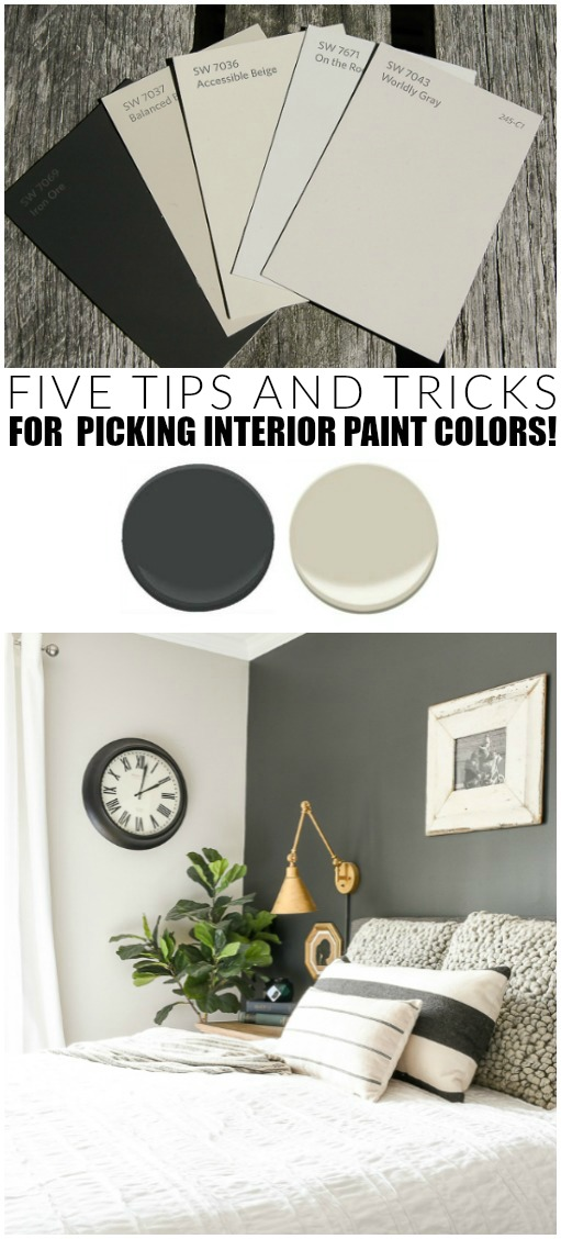 how to pick the right paint colors for your home little