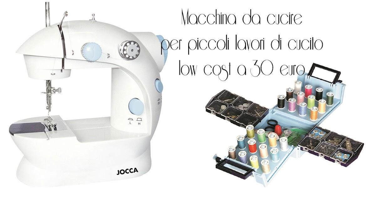 Macchina da cucire per piccoli lavori di cucito low cost a for Macchina da cucire 50 euro