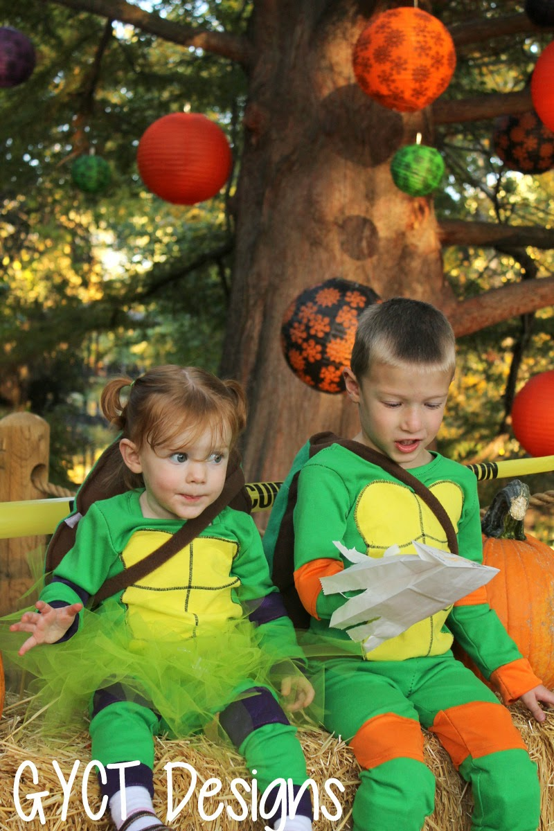 TMNT Halloween Costume by GYCT Designs
