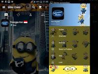 BBM MOD Minion Change Background Style APK v3.3.2.31 Full Update Free Download