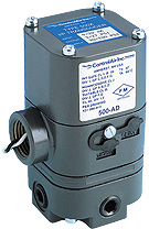 electropneumatic current to air voltage to air transducer for process control signals