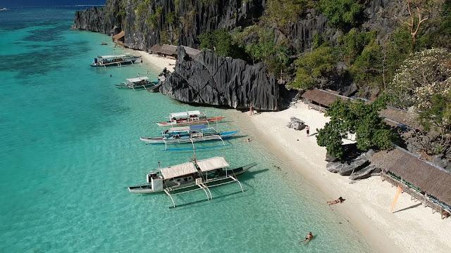 banul beach el nido philippines palawan