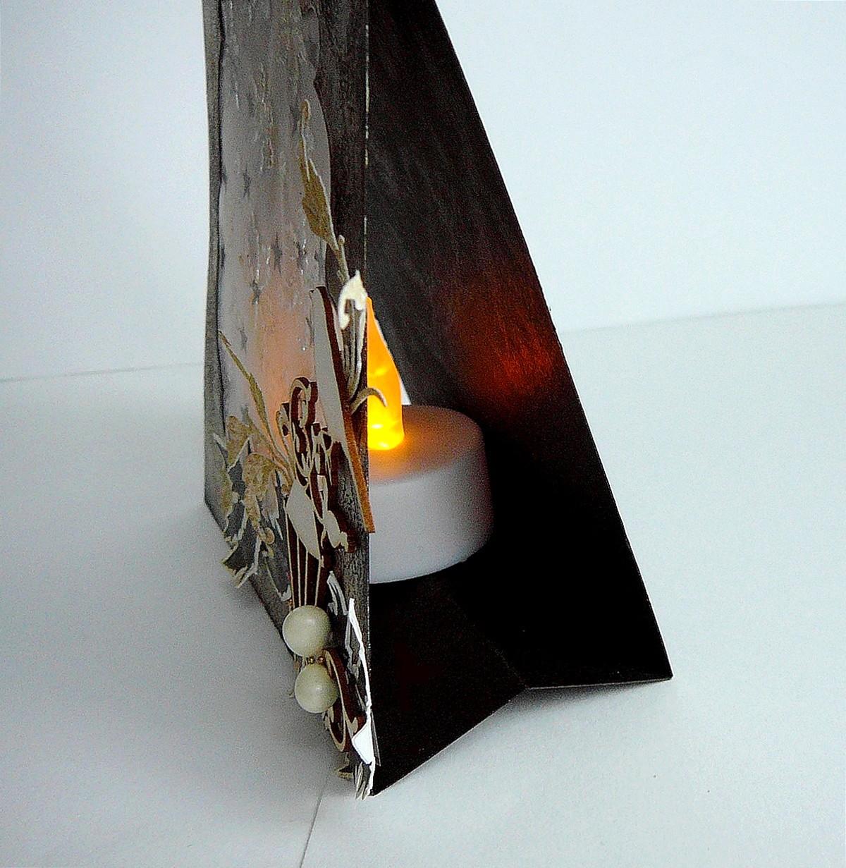 lampka led w kartce