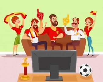 6 Tipe Penonton Sepak Bola Layar Kaca