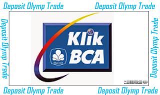 cara deposit olymptrade bank bca
