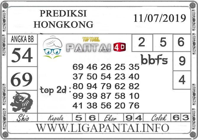 """PREDIKSI TOGEL """"HONGKONG"""" PANTAI4D 11 JULI 2019"""