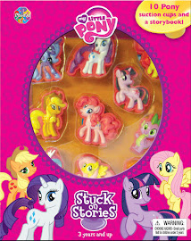 MLP Stuck on Stories Book Media