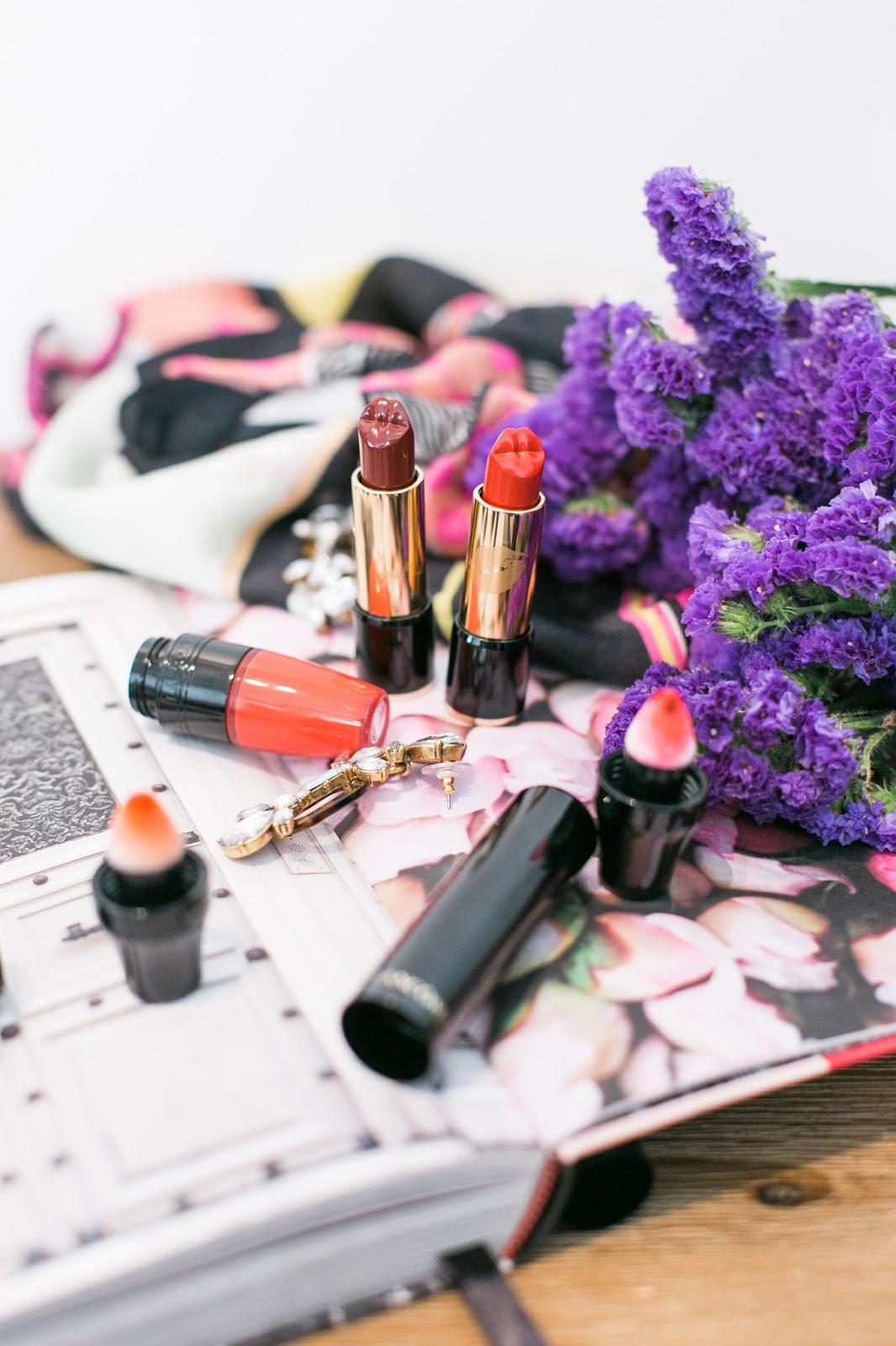 Bijuleni Lancôme x Olympia Le-Tan - L'Absolu Rouge Le Bisou Lipstick Review