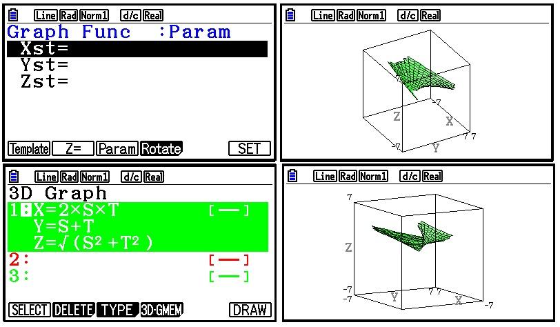 Eddie's Math and Calculator Blog: Casio fx-CG 10, fx-CG 20