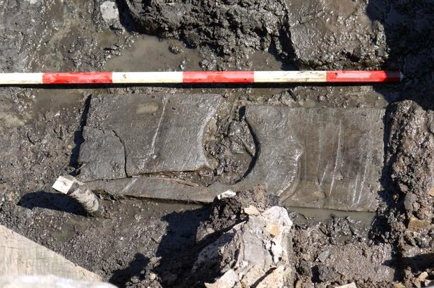 Roman toilet seat found at Vindolanda fort