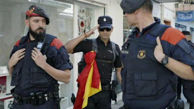 mossos, policia, guardia civil, separatistas, nacionalismo