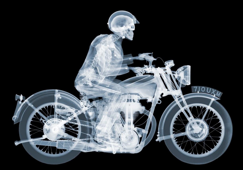 VINTAGE HARLEY DAVIDSON MOTORCYCLE RACING POSTER ARTIST GEO HAM BOARDTRACK AMA