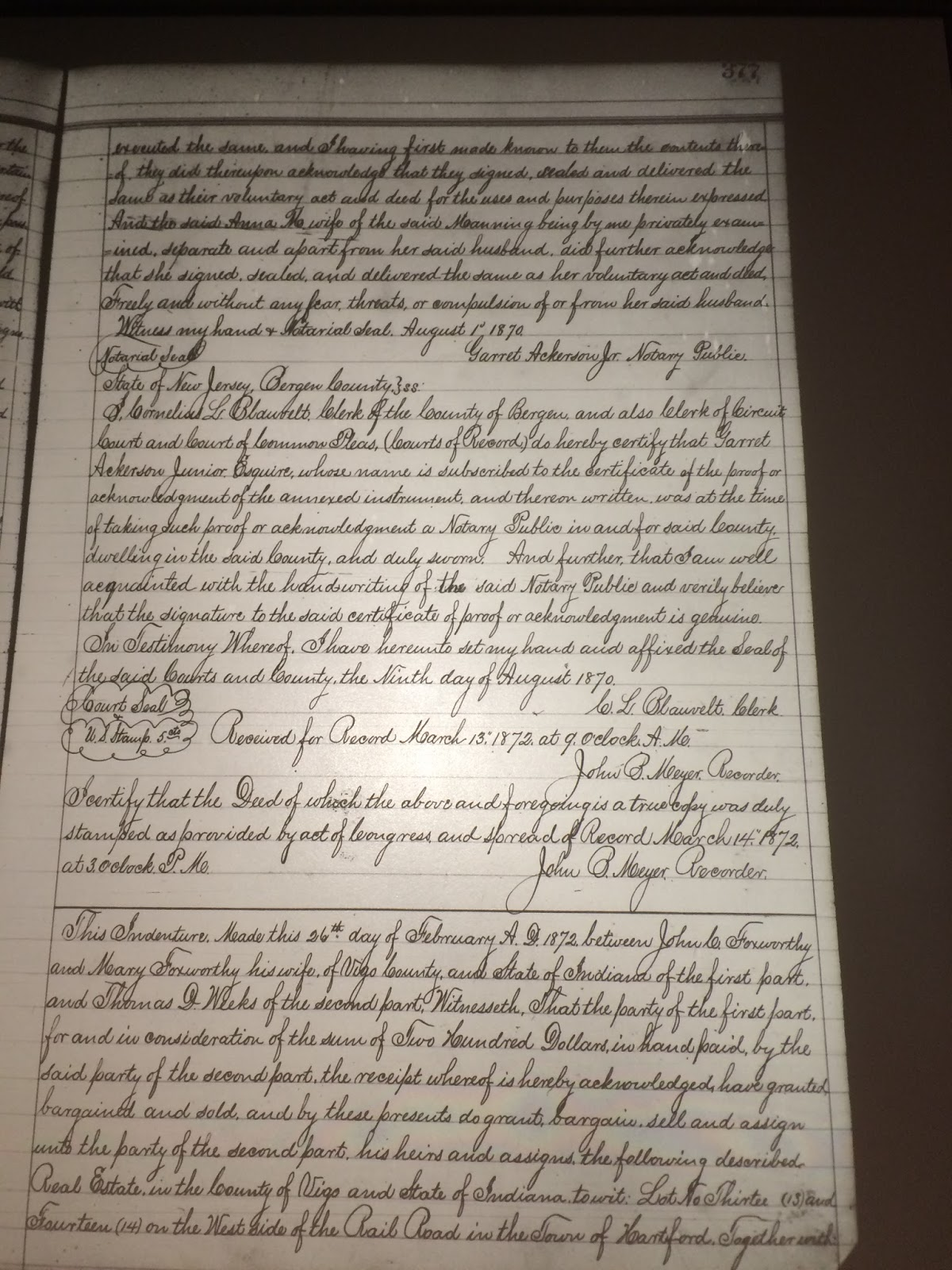 Genea musings amanuensis monday post 337 1870 deed of the transcription of this deed and accompanying statements is line by line aiddatafo Gallery
