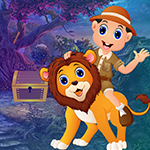 Games4king Ride Lion Resc…