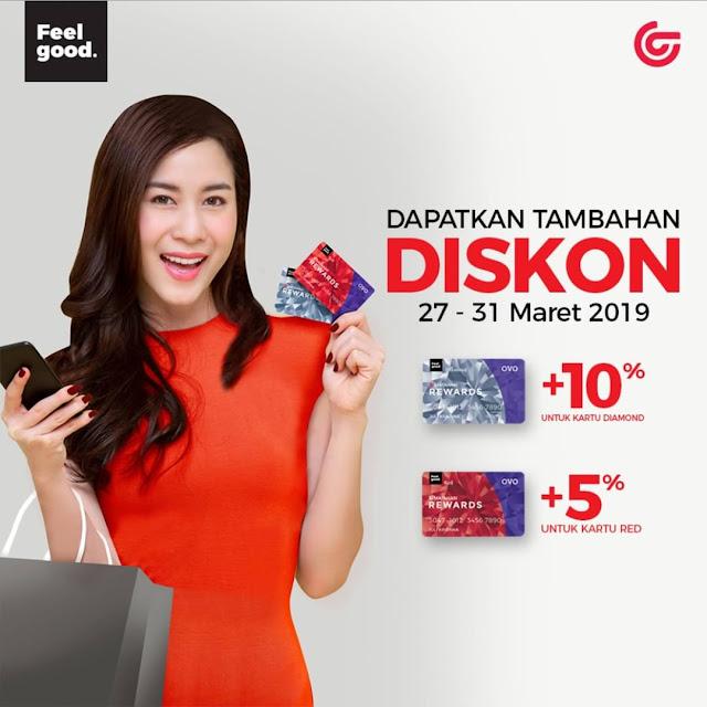 #Matahari - #Promo Diskon Tambahan Hingga 10% Pakai Matahari rewards (s.d 31 Maret 2019)