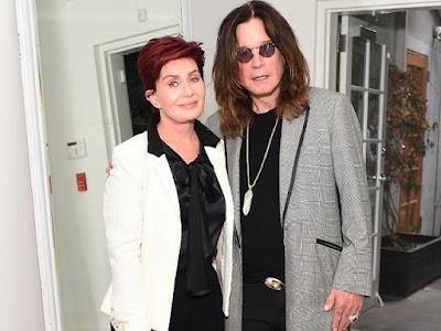 @Instamag - Ozzy, Sharon Osbourne happy hanging out together