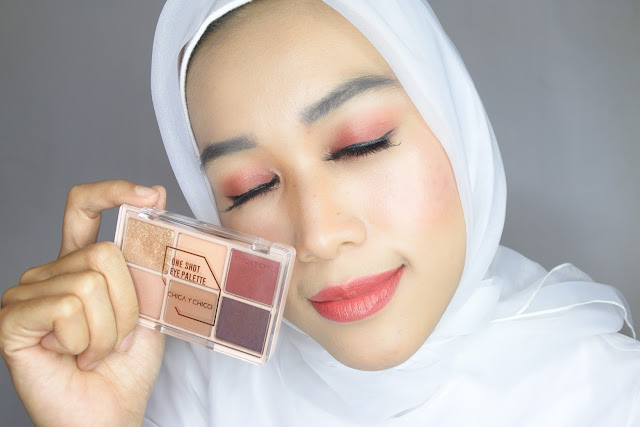 Review CHICA Y CHICO eyeshadow 04 Wine Burgundy